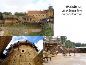 Château de Guédelon - Extérieur