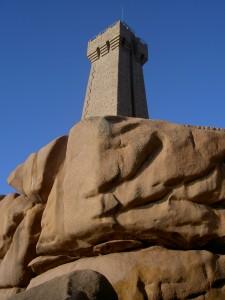 Côte de Granit Rose - Le phare de Min Ruz