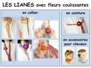 lianes fleuries