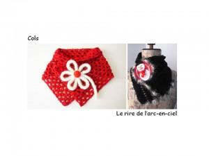 Lookbook cols rouge et noir