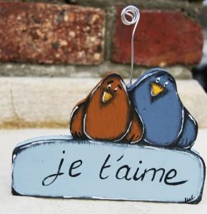 Porte photo oiseaux - Luldesign