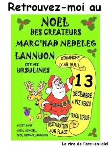 Noël des créateurs Lannion fb