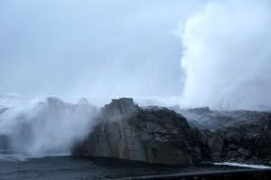tempête Ile Grande