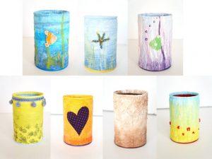Pots à crayons deuxième série
