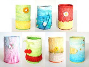 Pots à crayons première série