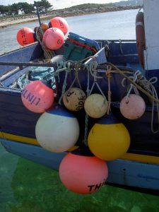 Bateau de pêcheur au Port Saint-Sauveur 2