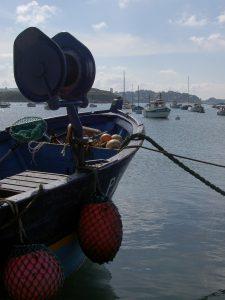 Bateau de pêcheur au Port Saint-Sauveur