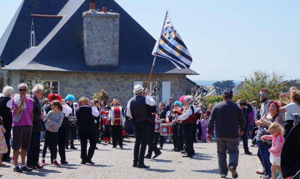 Musique bretonne au carnaval, bien sûr