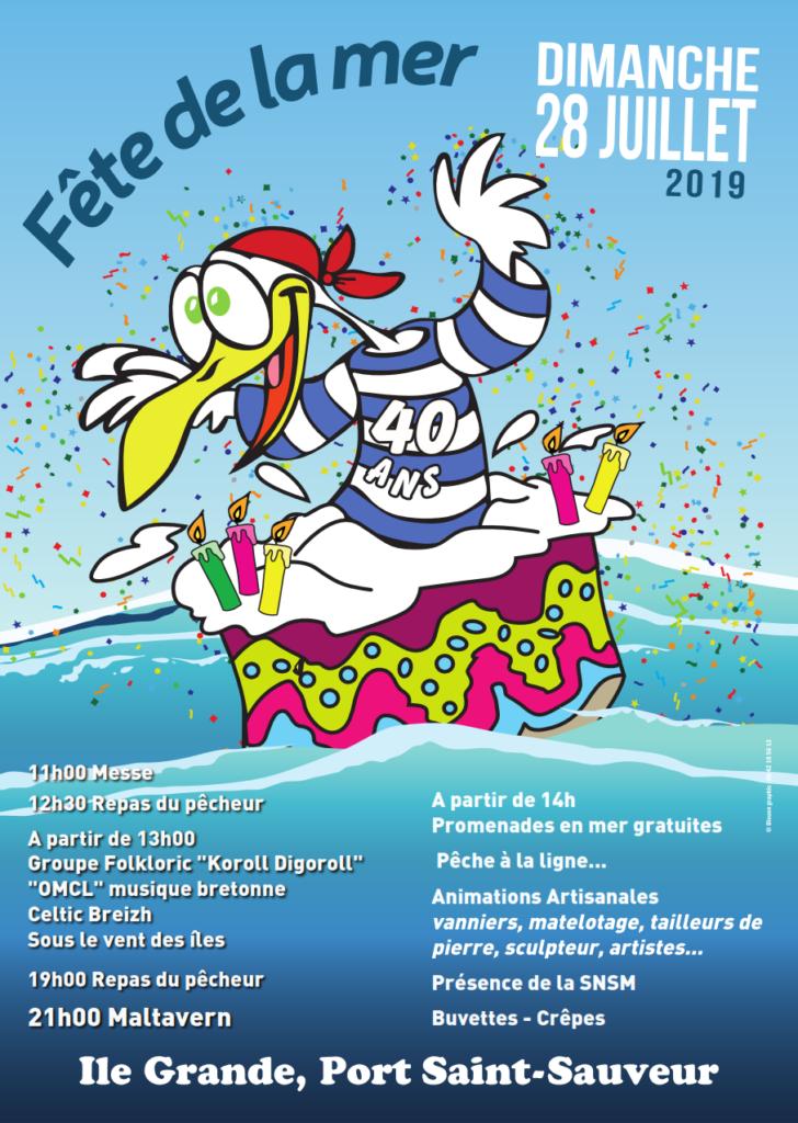 Fête de la mer 2019 Île Grande