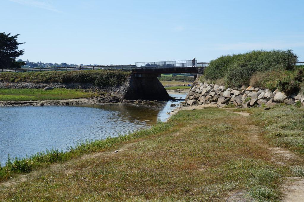 Le pont avec petit coefficient de marée
