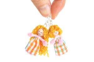 Boucles d'oreilles figurines
